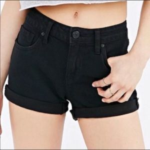 BDG Black Shorts